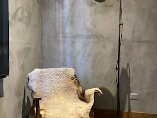 tappet piel de borrego illytorres Living roomAccessories & decoration Metal Black