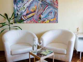 Diseño de interiores - Piso Chamberi Luciane Gesualdi   arquitectura y diseño SalonesAccesorios y decoración Beige