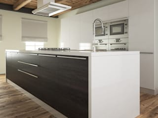 Drawers and kitchen doors Artesive KitchenBench tops Wood-Plastic Composite Wood effect