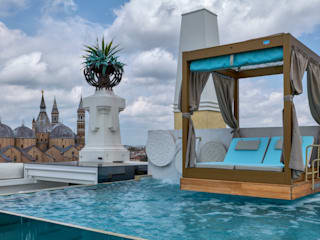 Aquadeva Infinity Pool Iron/Steel