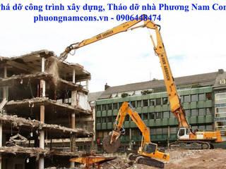 Phương Nam Cons Bangunan Kantor Gaya Industrial