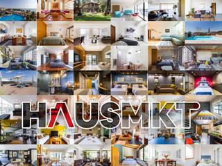 Hausmkt Casas de estilo moderno