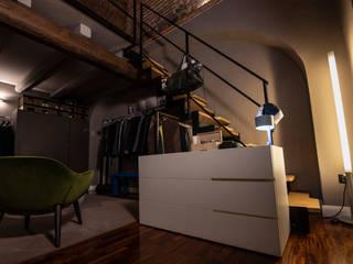 MM Interni BedroomWardrobes & closets Wood White