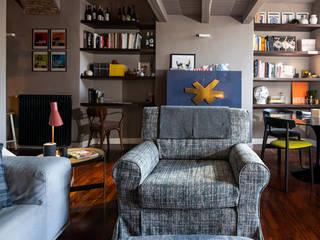 MM Interni Living roomSofas & armchairs Textile Grey