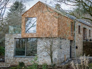 Extended and Modernised Period Farmhouse In Lanhydrock, Cornwall by ARCO2 Arco2 Architecture Ltd Country house