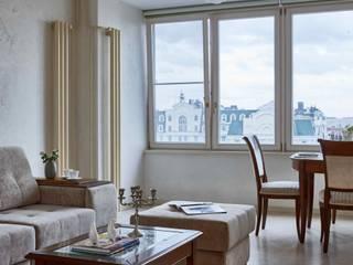 Вира-АртСтрой Eclectic style living room