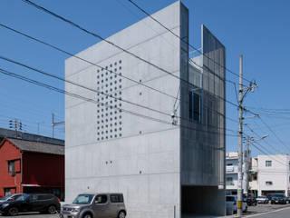 白島のアトリエ 吉田豊建築設計事務所 YUTAKA YOSHIDA ARCHITECT & ASSOCIATES モダンな 家