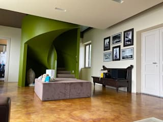 homify Stairs Concrete Green