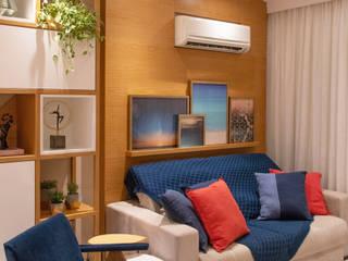 Apartamento Botafogo Debiaze Arquitetura Salas de estar modernas