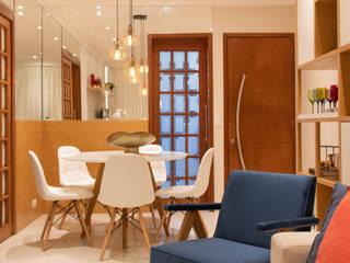 Apartamento Botafogo Debiaze Arquitetura Salas de jantar modernas