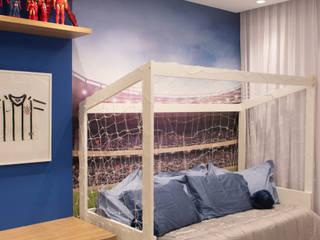 Quarto Infantil Futebol Debiaze Arquitetura Quarto infantil moderno