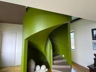 Il colore nei miei progetti Silvia Camporeale Interior Designer Scale Cemento Verde