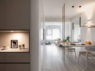 森叄設計 Стены и пол в скандинавском стиле