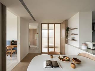 森叄設計 Столовая комната в азиатском стиле