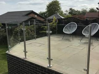 Glass Balustrade in Harrow Origin Architectural Balconies, verandas & terraces Accessories & decoration Glass Transparent