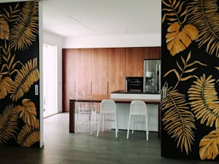 INTERNO78.IT - DECORAZIONI D'INTERNI Modern dining room Amber/Gold