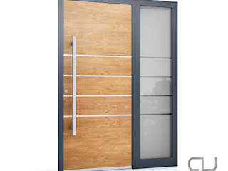 RK Exclusive Doors Front doors Aluminium/Zinc Wood effect