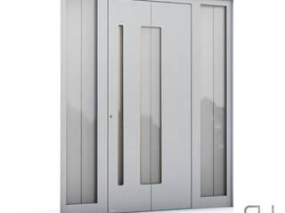 RK Exclusive Doors Pintu Aluminium/Seng White