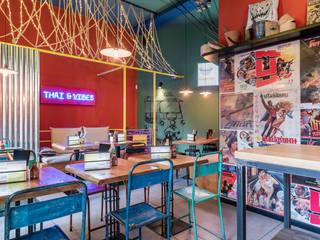 Tuk Tuk Ride - Thai & Vibes Caleidoscopio Architettura Gastronomia in stile asiatico Ferro / Acciaio Verde