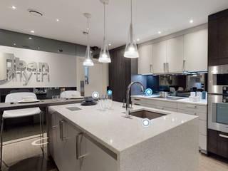 Virtual Showroom Tour Urban Myth Cocinas de estilo moderno