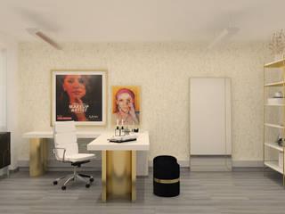 ByOriginal Nowoczesne domowe biuro i gabinet