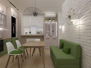 Vision Design Modern style kitchen Green