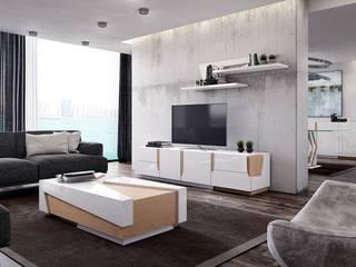 Intense mobiliário e interiores Living roomShelves