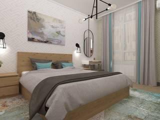 Vision Design Modern style bedroom Grey