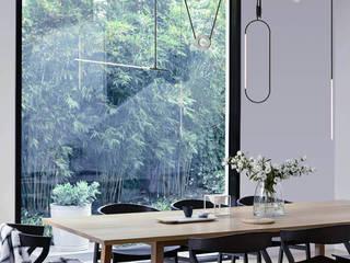 Arachnè lampada a sospensione Nosenso Design Sensations Ingresso, Corridoio & ScaleIlluminazione Alluminio / Zinco Nero