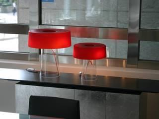 Glam lampada da tavolo Nosenso Design Sensations Ingresso, Corridoio & ScaleIlluminazione Vetro Rosso