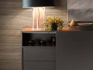 Glam lampada da tavolo Nosenso Design Sensations Ingresso, Corridoio & ScaleIlluminazione Vetro Nero