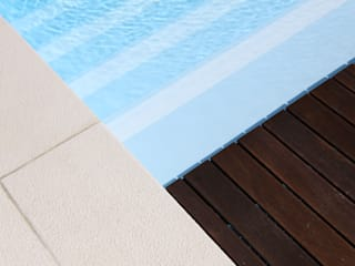 Piscinas Imperial Garden Pool Reinforced concrete White