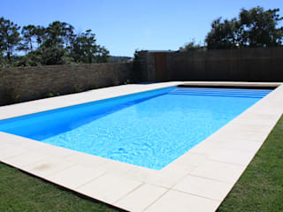Piscinas Imperial Piscinas de jardín Concreto reforzado Azul