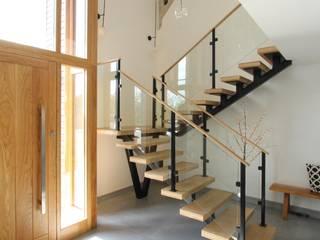 Buckinghamshire Barn Conversion Orkun Indere Interiors Escaleras