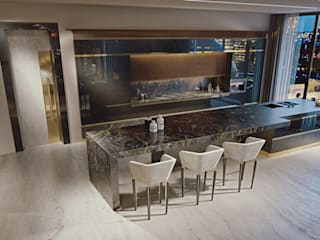 Jewel - Brummel BRUMMEL Modern kitchen Marble Black