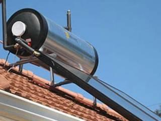 Geyser Repairs Pretoria East 0714866959 (No Call Out Fee) Escuelas de estilo industrial Hierro/Acero Rojo