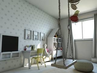 Habitación Montessori Gabi's Home Habitaciones infantilesEscritorios y sillas Beige