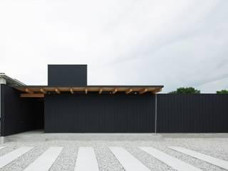 空間建築-傳 Wooden houses Black