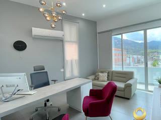 ea interiorismo Modern office buildings Grey