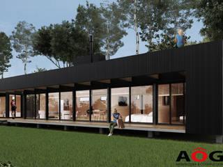 CASA MODULAR AOG Casas unifamiliares Madera