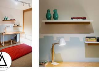 Projeto - Design de Interiores - Quarto de Adolescente - Moradia RN Areabranca Quartos de rapariga