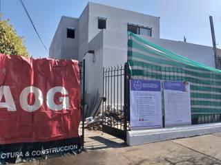 CASA RIVERA AOG Casas unifamiliares Metal Beige