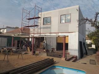 CASA RIVERA AOG Casas unifamiliares Metal Blanco