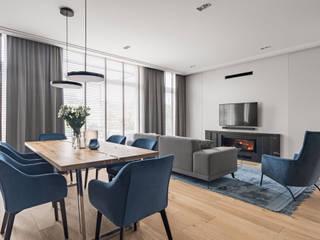 Anna Serafin Architektura Wnętrz Modern dining room