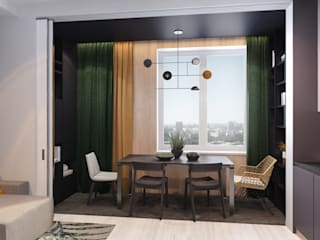 Вира-АртСтрой Minimalist living room