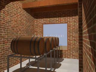 Diseño arquitectónico y diseño interior de bodega vinícola Pamela Suzuki