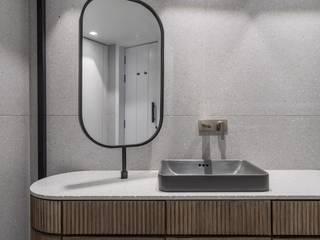 DESIGNER'S CIRCLE Kamar Mandi Modern Kayu Grey