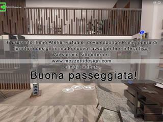 Mezzettidesign Virtual Atelier Mezzettidesign Paesaggio d'interni Legno Effetto legno