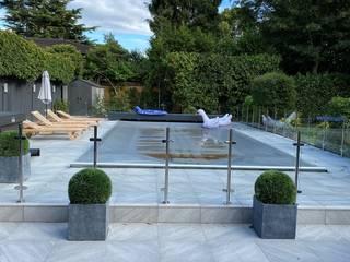 Glass balustrade Halifax Origin Architectural Garden Pool Glass Transparent