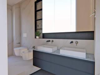 Un baño reformado al completo Arquitectura Sostenible e Interiorismo | a-nat Baños de estilo minimalista